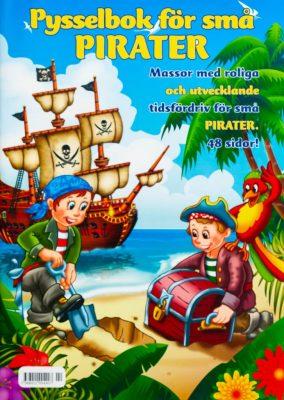 Pysselbok för små PIRATER